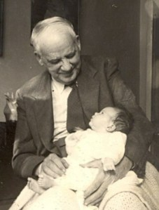 photo: my grandfather and me