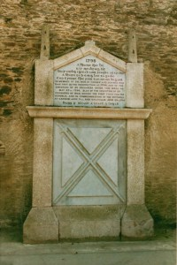 Picture of the 1798 memorial, Carnew, Co Wicklow