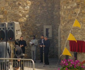Opening Day, Wicklow Historic Gaol - ecumenical blessing