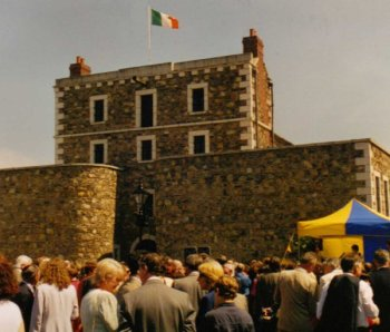Wicklow Gaol opening day - Mary McAleese speaking