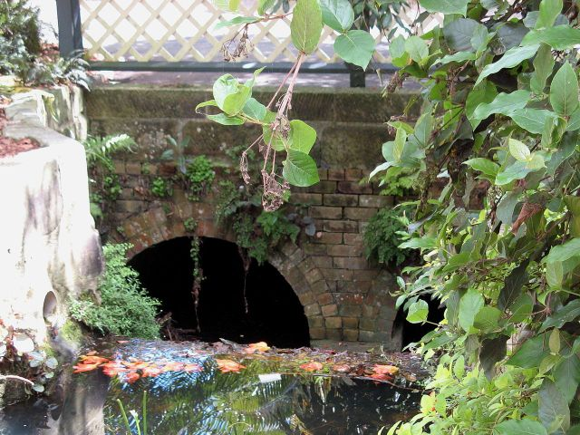 Macquarie Culvert in the Royal Botanic Gardens, Sydney, the oldest bridge in Australia.  CC via Wikipedia