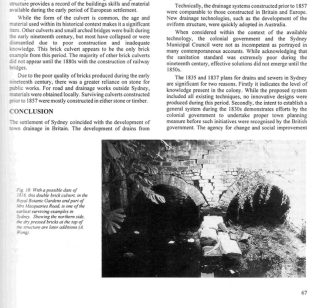 Anna Wong's AHA article about Macquarie Culvert, built by Nicholas Delaney and his convict gang c1816