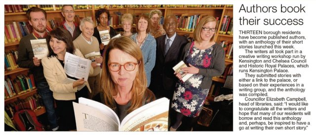 The Chronicle's report on the launch of Stories from Kensington Palace