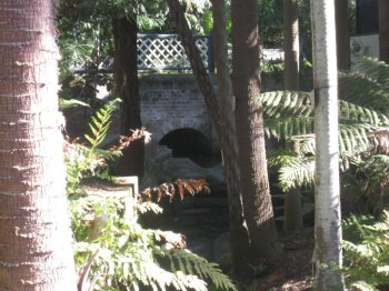 Another view of Macquarie Culvert  in Sydney's Botanic Gardens, built by Nicholas Delaney and his gang