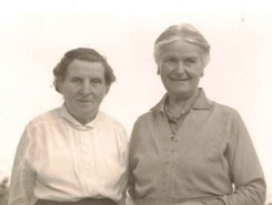Mamgu and Auntie Mary