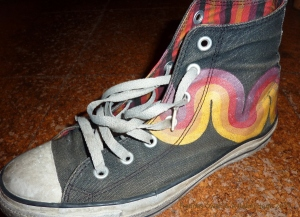 Photo of Converse shoe