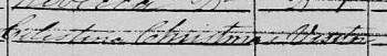 1851 census Celestina