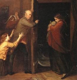 Photograph: The Outcast (Richard Redgrave, 1851)