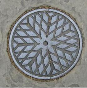 Coal hole cover plate, London pavement