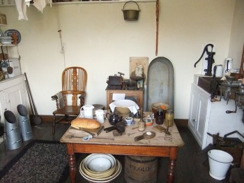 Replica Victorian kitchen, Museum of Lincolnshire Life