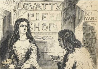 Mrs Lovatt's pie shop (Sweeney Todd) #victorianmurder