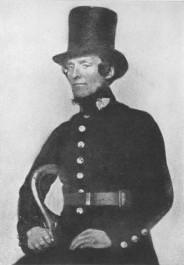 1850s Peeler (policeman) like the ones who found Celestina's body