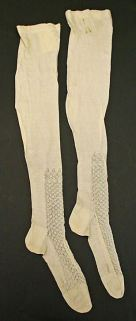 1850s women's stockings