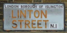 Linton St sign - where Celestina Sommer murdered her daughter