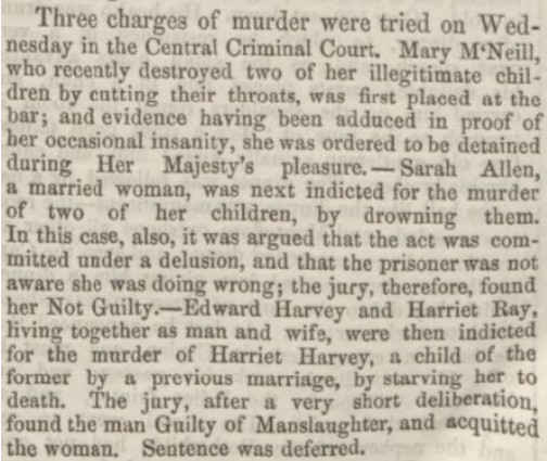 The Mary McNeil inquest continued