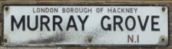 Murray Grove road sign