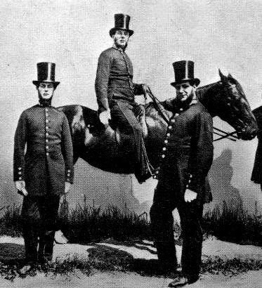 Metropolitan police, 1860