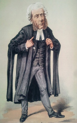 William Ballantine, caricature by Alfred Thompson https://commons.wikimedia.org/wiki/File:William_Ballantine_Vanity_Fair_5_March_1870_%28crop%29.jpg