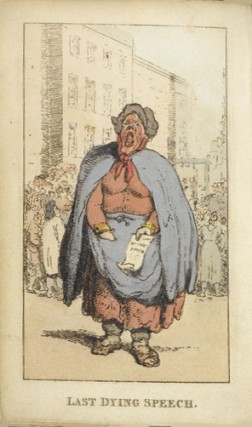 Broadsheet seller, British Library