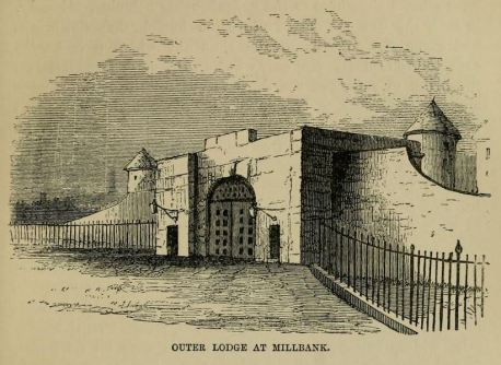 Millbank Prison, the outer lodge entrance