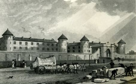 Engraving of Millbank Prision, 19th century