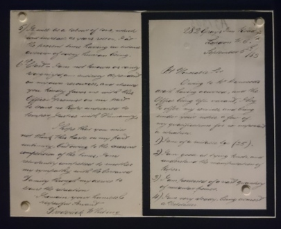 Letter applying for the job of executioner
