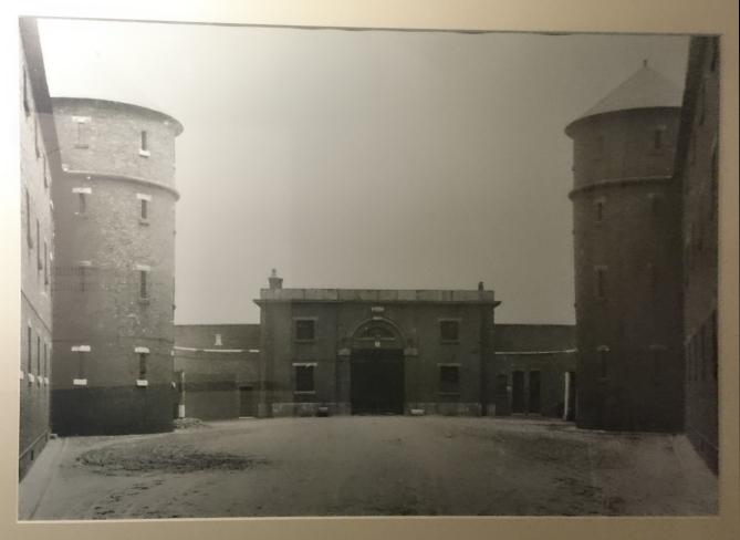 Millbank Prison, view down main corridor