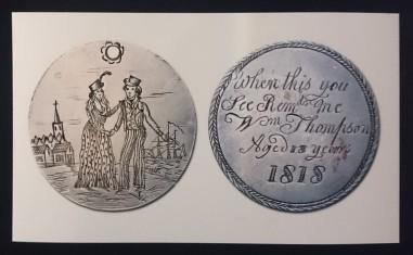 Convict love token, 1818