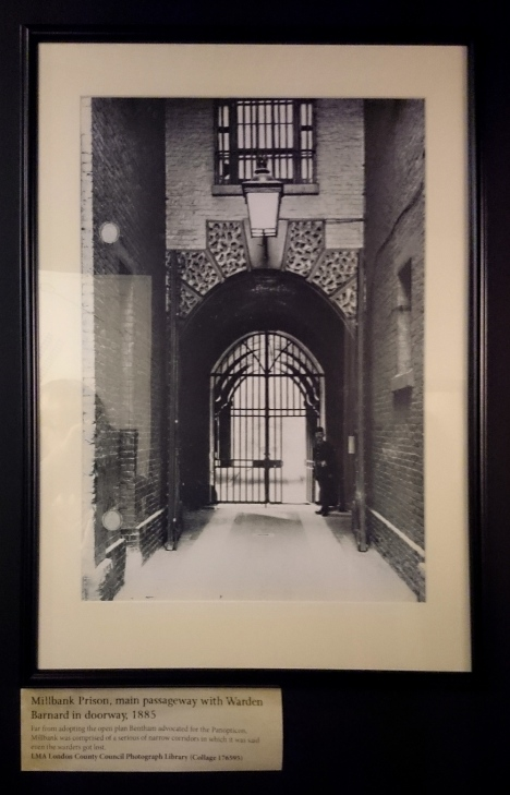 Millbank Prison - main passageway