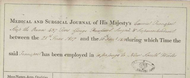 Medical and surgical journal by George Fairfowl, official document