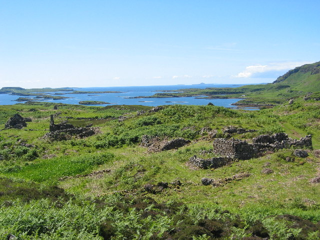 Ormaig, Isle of Ulva, where Lachlan Macquarie was born